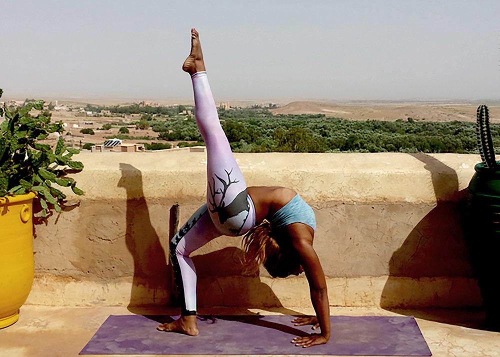 Jonelle Lewis yoga teacher