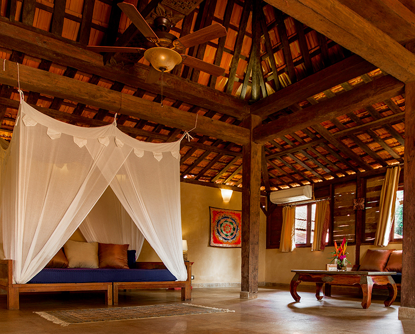 Yoga Explorers yoga retreat in North Goa - suite