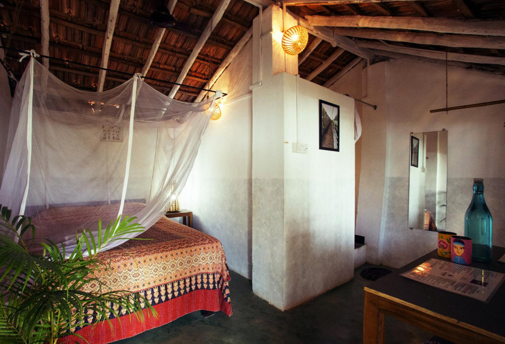 Yoga Explorers yoga holiday in South Goa - simple, stylish accommodation