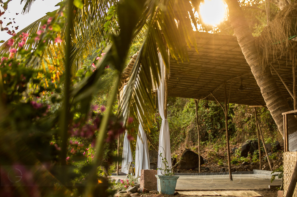 Yoga Explorers yoga retreat in South Goa - yoga shala
