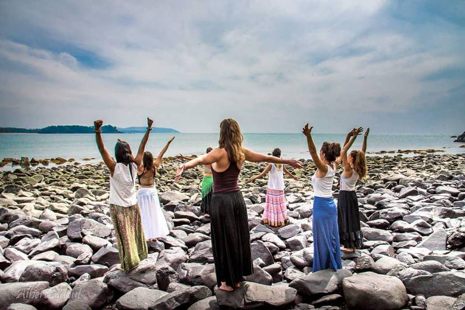 Yoga Explorers yoga retreat in South Goa - daily yoga on the best beach in Goa!