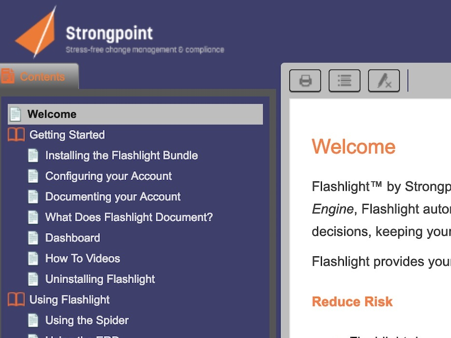 Flashlight by Strongpoint for NetSuite - https://help.strongpoint.io/flashlight_by_strongpoint_for_netsuite/index.htm