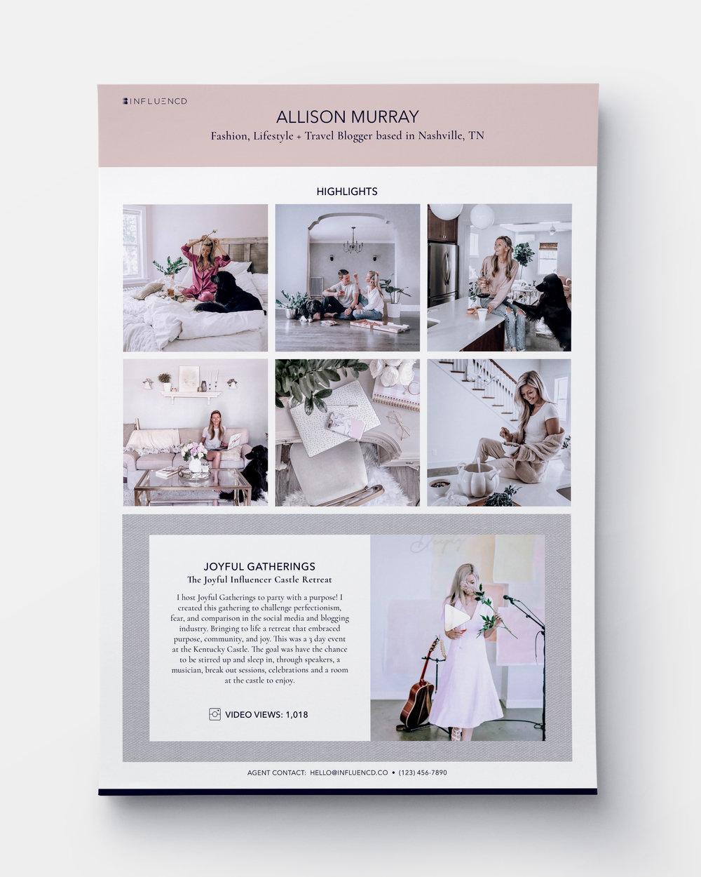 MEDIA KIT: Design For Print Collateral
