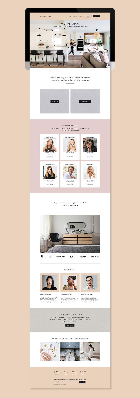 WEBSITE: Home Page Design