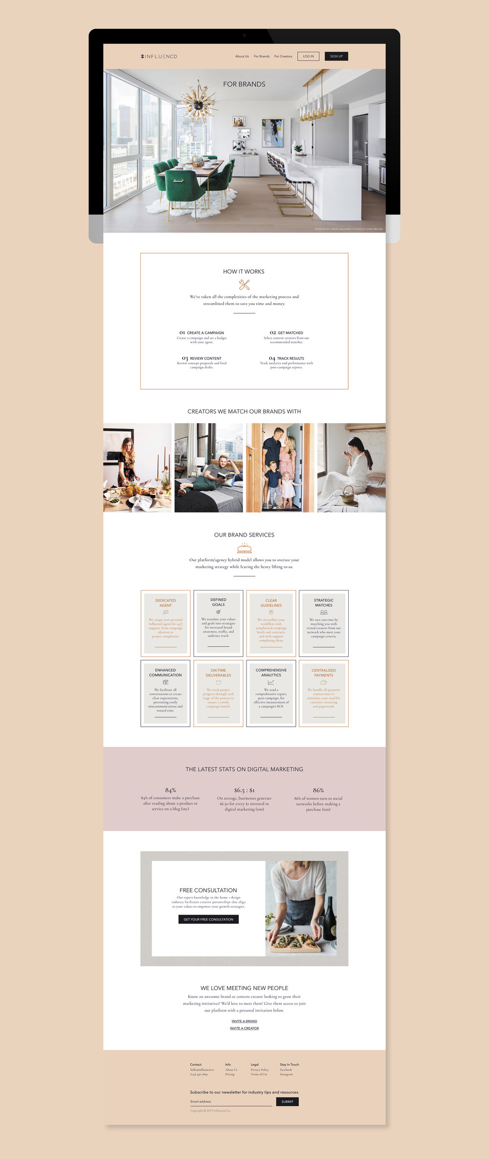 WEBSITE: Design For The Brand-As-User Experience