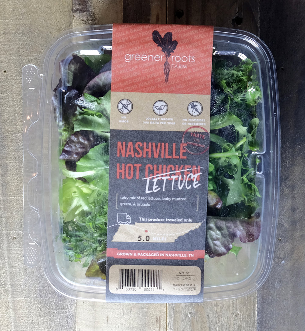 Nashville Hot Lettuce
