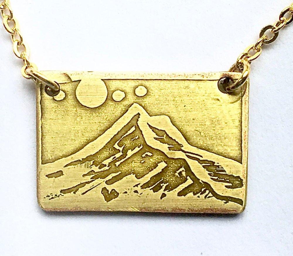 Mini Mount Hood Necklace