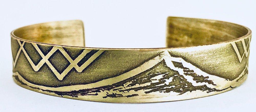 Mount Hood Medium Bracelet Cuff