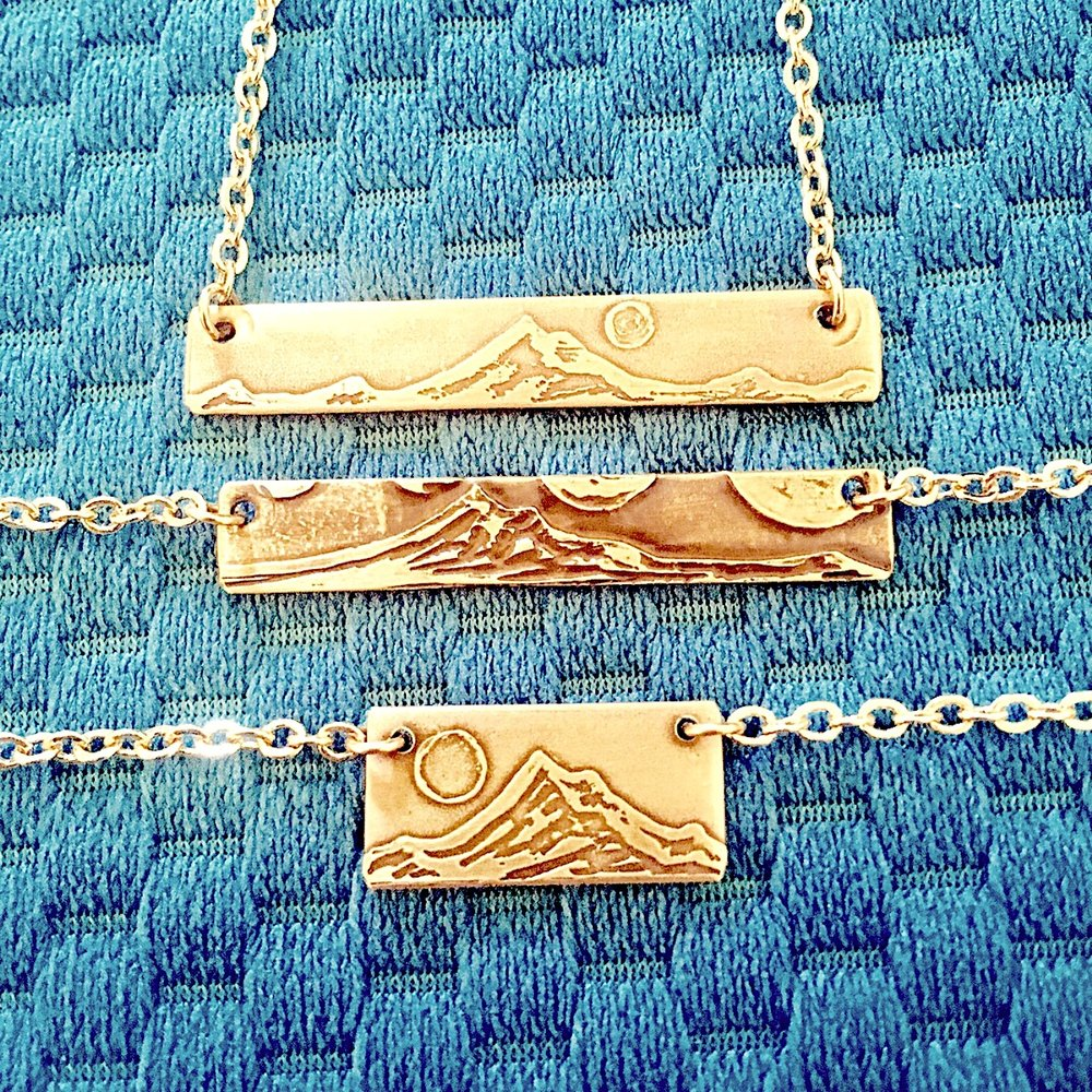 Mount Hood Necklace Designs