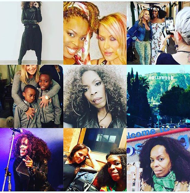 HAPPY NEW YEAR!!! So I've learned that you love anything that I do with @Anastacia and my curly hair! Hmmm, ok I'll take that. Great memories indeed! My wonderful top nine! #topnineinstagram #topnine2017 #iLoveMyLife! God bless you all!