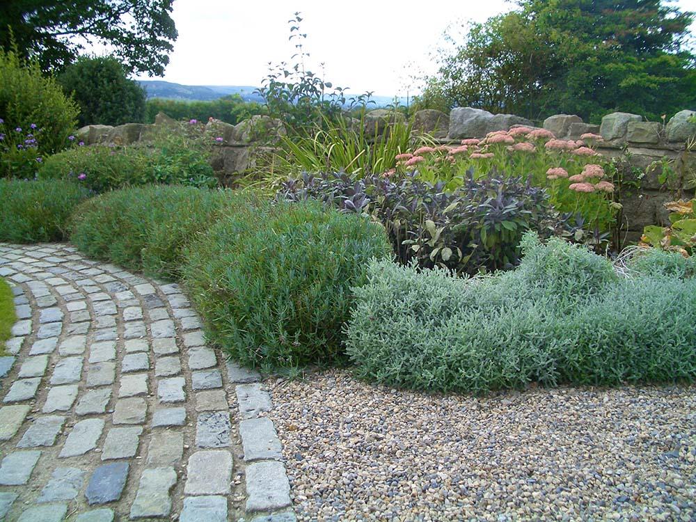 Cottage garden to end terrace, Weston, Otley.
