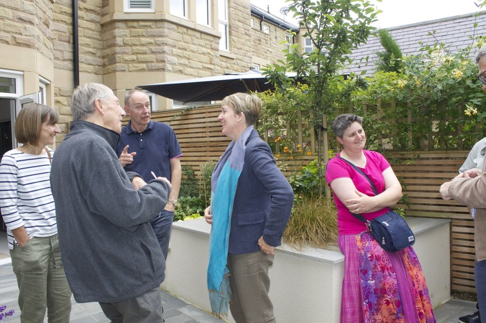 Helen Taylor with clients or the Annual Garden Visits Day 2017.jpgg