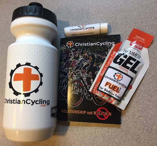 Christian Cycling Custom Gospel gift pack.