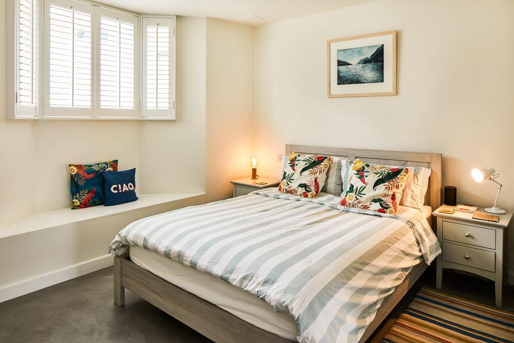 Basement bedroom London