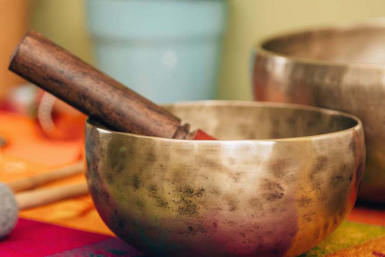 Nourishing Life Qigong Sound Bath Experience with Singing Bowls