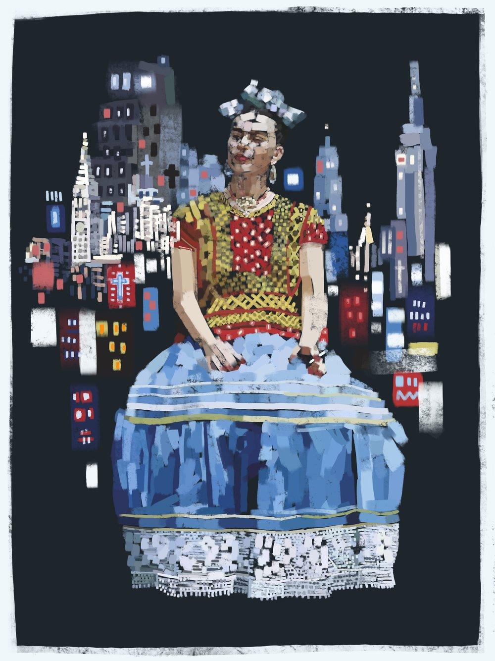 Frida in New York City
