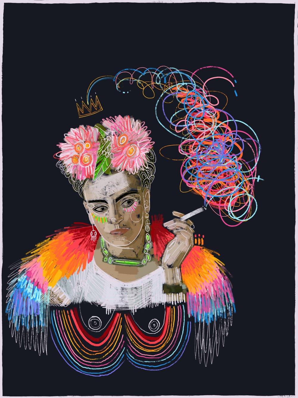 Dreaming Frida