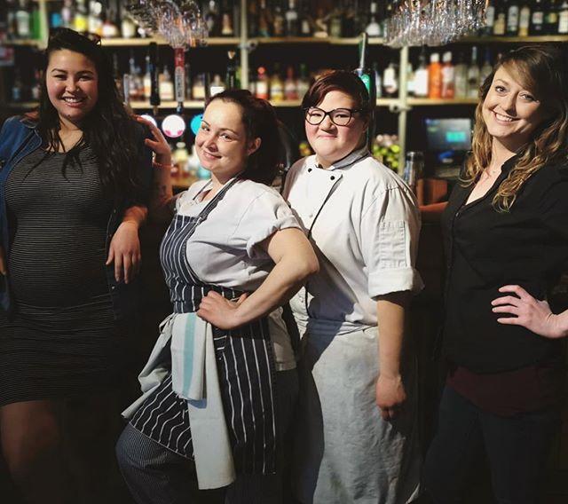 Our Amazing Women at Bournemouth are #rocking the bar and kitchen today 😎🙌 Happy #internationalwomensday 🙌❤️    #lovebournemouth #bournemouth #bournemouthlife #dancingmoose #women #womenempowerment #meettheteam #femaleempowerment #female #girlpower #loveourgirls #teampower #cocktails #bartender #chef #cheflife #bartenderlife #poole #lovefordorset #lovefordorsetlocal #dorset #teamwork