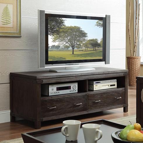 Promenade TV Console at Belfort Furniture