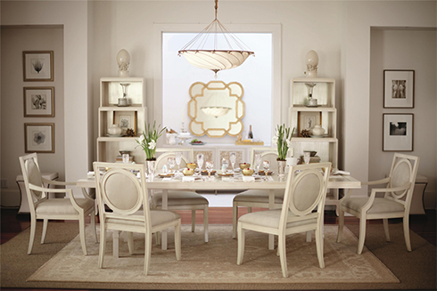 Salon Dining at Belfort Furniture
