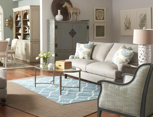 Spa Blue at Belfort Furniture