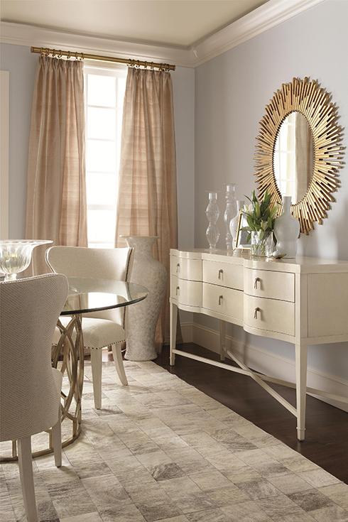 Salon Gold Sunburst Mirror at Belfort Furniture
