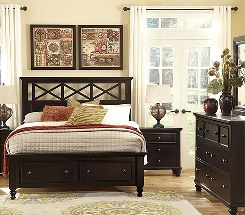 Ellington Collection by Vaughan Bassett Storage Bed