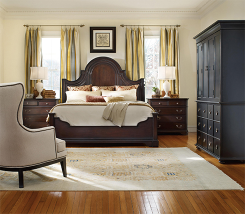 Estate Collection by Hooker Furniture Black Armoire