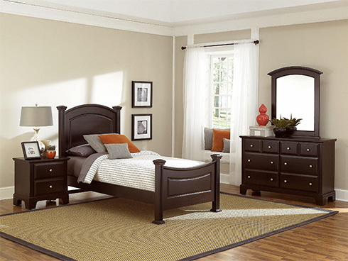 Hamilton Twin Bed Youth Furniture at Belfort Furniture