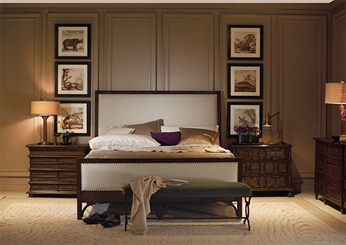 Vestige Collection by Bernhardt with Two Different Nightstands
