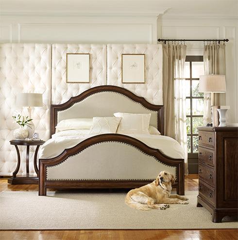 Classique Upholstered Bed by Hooker Furniture at Belfort Furniture