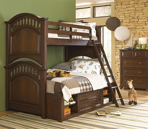 Griffin Bunk Bed at Belfort Furniture