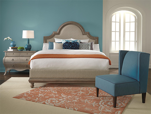 HGTV Home Collection Caravan Blue at Belfort Furniture