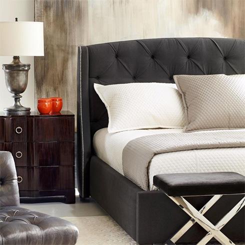 Jordan Upholstered Bed by Bernhardt at Belfort Furniture