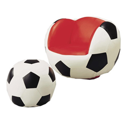 Soccer Chair and Ottoman at Belfort Furniture