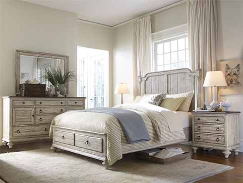 Weatherford Cornsilk Bedroom at Belfort Furniture