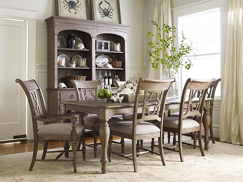 Weatherford Heather Dining Set at Belfort Furniture