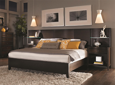 Aspenhome Contour Bookcase Bed at Belfort Furniture