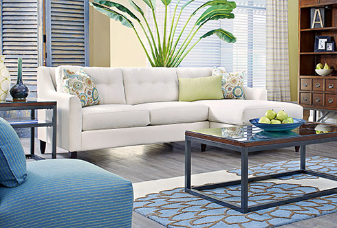 Avery Sofa Made In America At Belfort Furniture