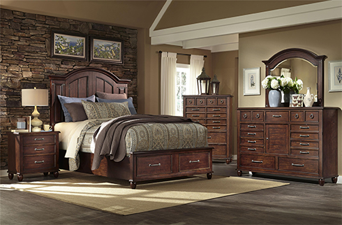 Blue Ridge Bedroom at Belfort Furniture
