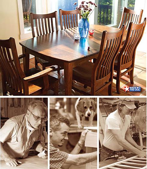 Furniture Made in America at Belfort Furniture