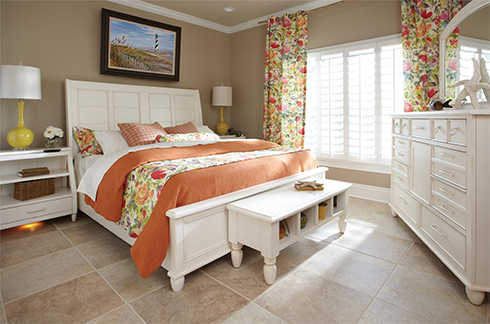Sea Breeze Bedroom at Belfort Furniture