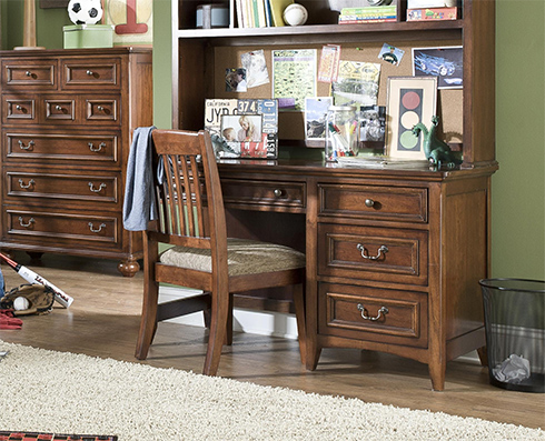 American Spirit Kids Desk at Belfort Furniture