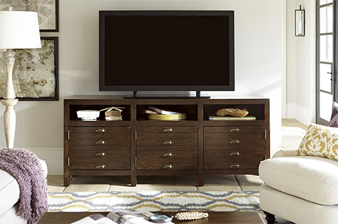 Cordevalle Entertainment Console at Belfort Furniture