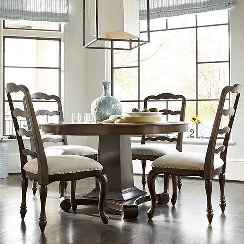 Cordevalle Round Dining at Belfort Furniture