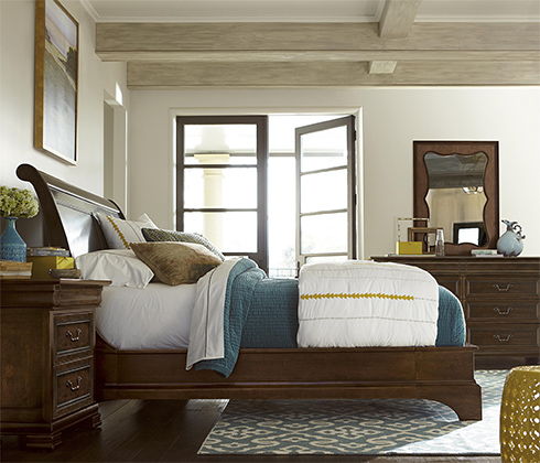 Cordevalle Sleigh Bed at Belfort Furniture