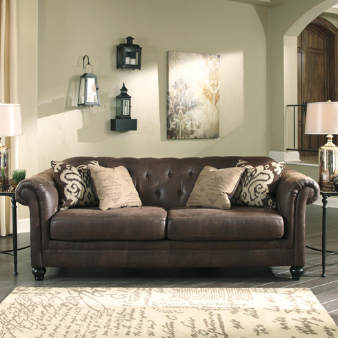 Adelle Sofa at Belfort Furniture