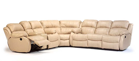 Latitudes Brandon Reclining Sectional at Belfort