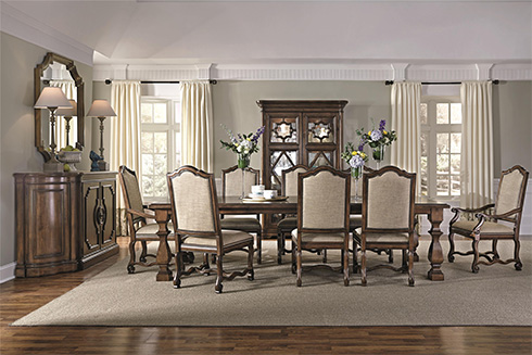 Montebella Dining Room at Belfort Furniture