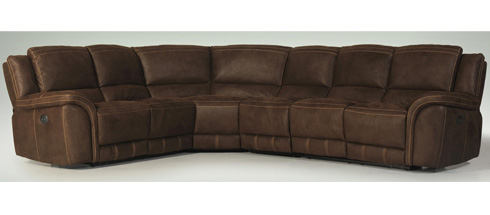 Nathan Reclining Sectional at Belfort Furniture